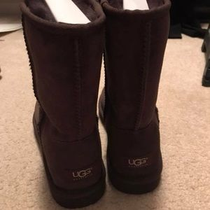 Chocolate, Classic Short, Uggs- size 8, authentic